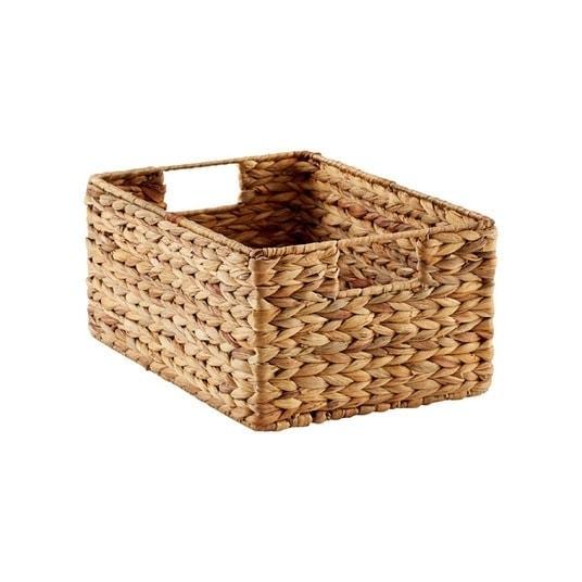 hyacinth bin storage basket