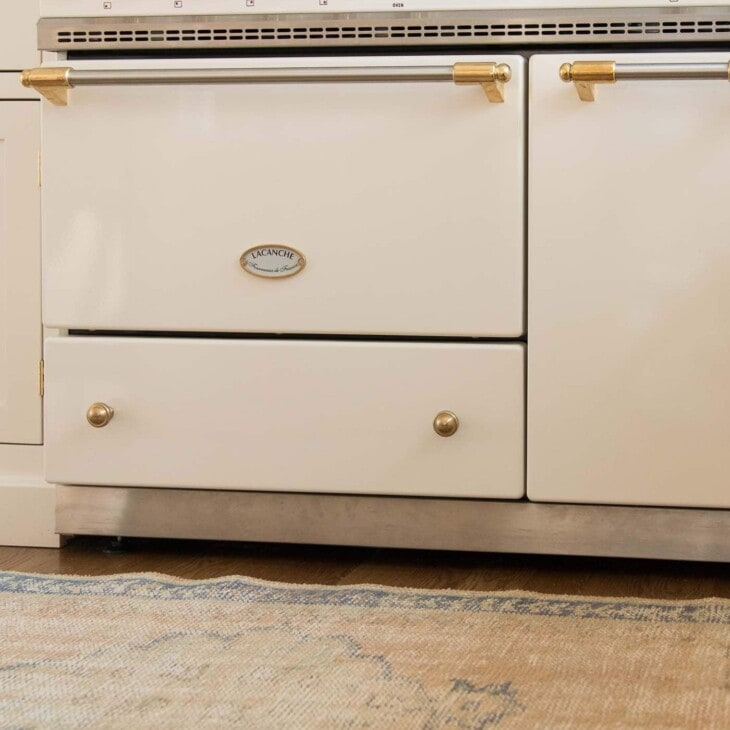all the details about a lacanche french range
