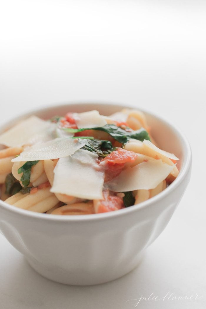pomodoro is a light but flavorful pasta everyone will love