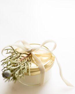sugar lip scrub in gift jar