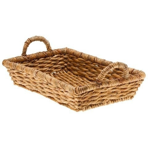 coffee tray basket with handles