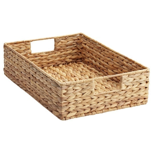tray basket perfect for use in closet