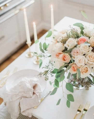 how to arrange roses for valentines day