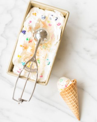 easy no churn bubble gum ice cream