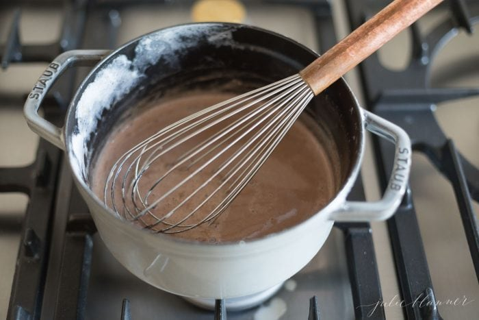 easy way to make pots de creme