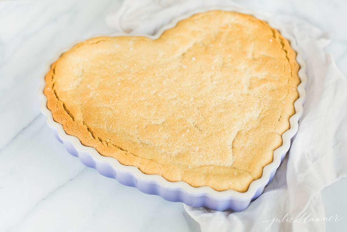 peanut butter cookie cake close up