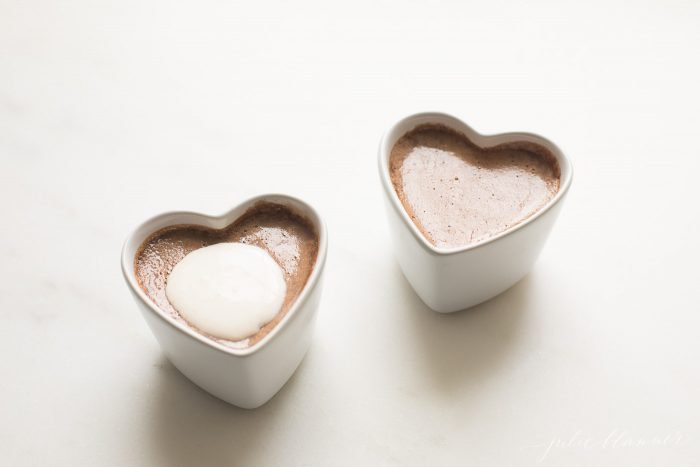 pot de creme valentines recipe