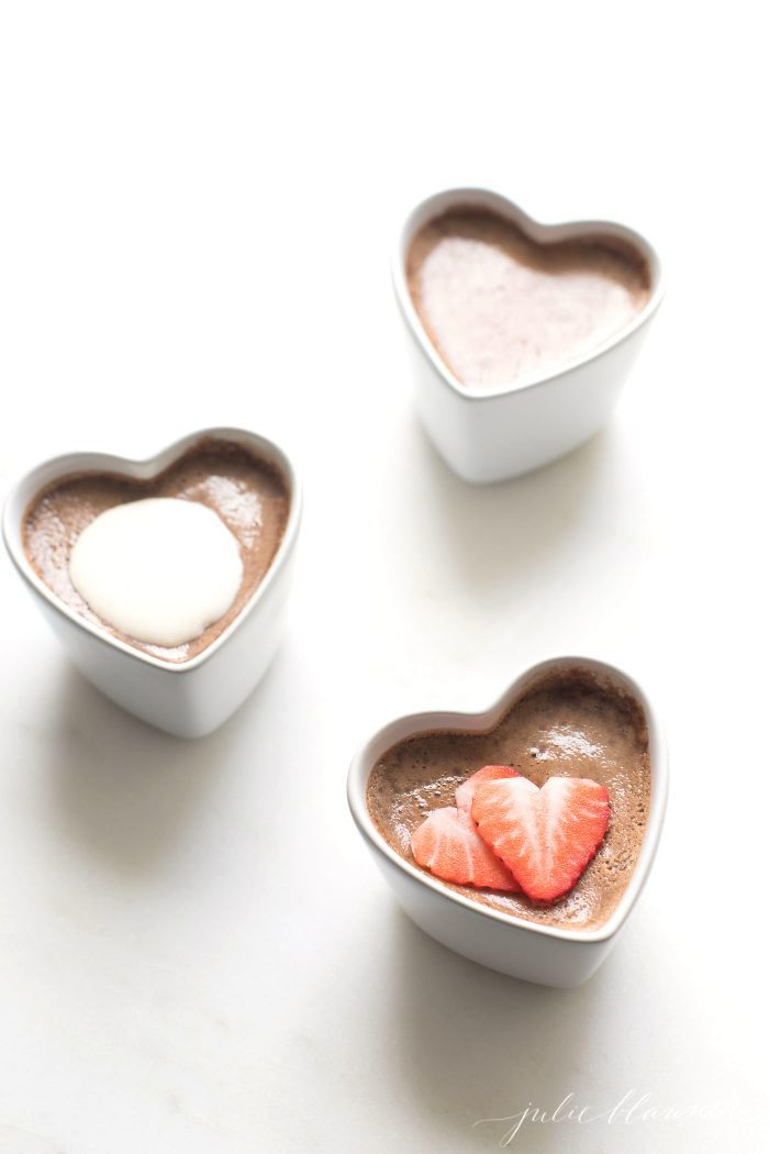 pot de creme valentines day recipe