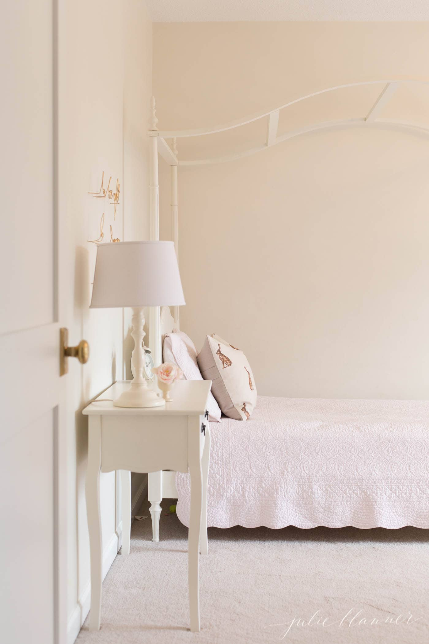 use a warm paint color to make your home feel cozy