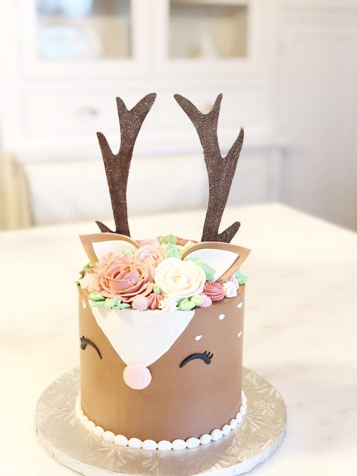 woodland deer cake