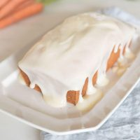 Carrot Bread (Carrot Cake Loaf)