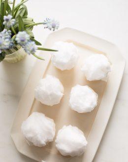 bunny tail cupcake easter dessert