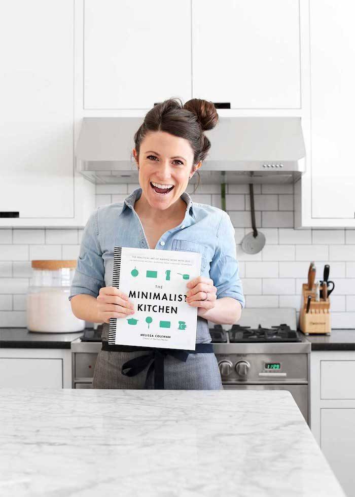 Melissa Coleman the minimalist kitchen book