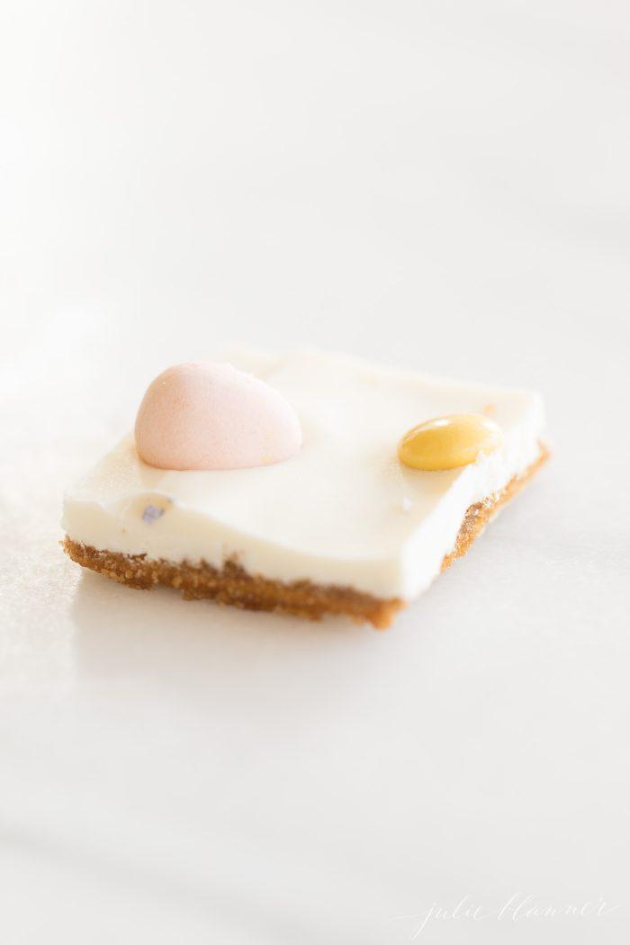 saltine cracker toffee with white chocolate