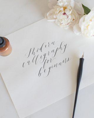 beginners calligraphy