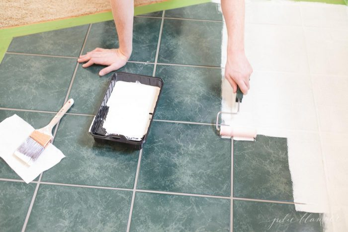 tile paint diy