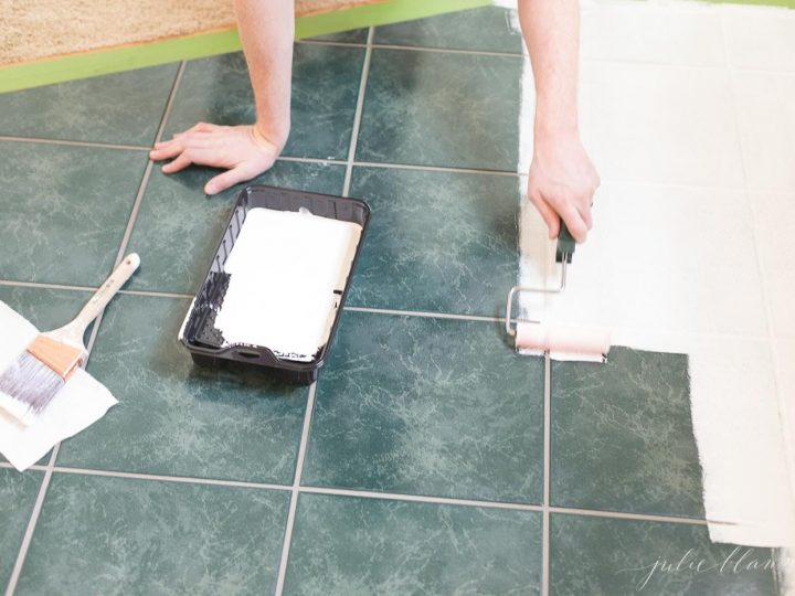 Ceramic Tile With Paint