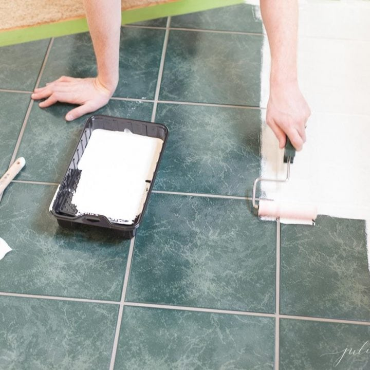 Floor Tile Paint Yes You Can Paint Floor Tiles Here S: Tile Paint (How To Paint Ceramic Tile