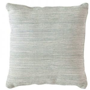 light blue outdoor pillow
