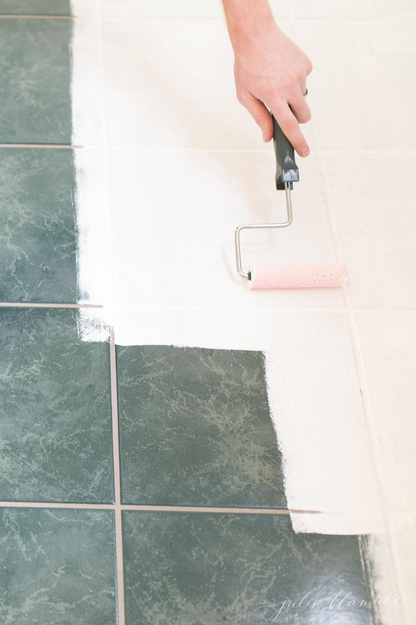 how to use tile paint