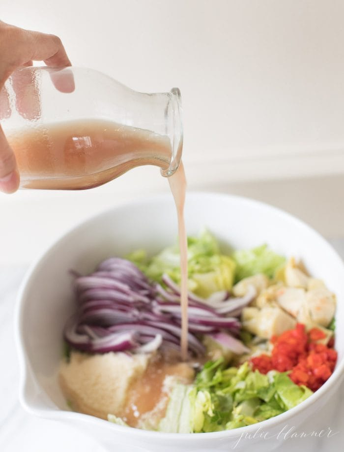 red wine vinaigrette salad dressing