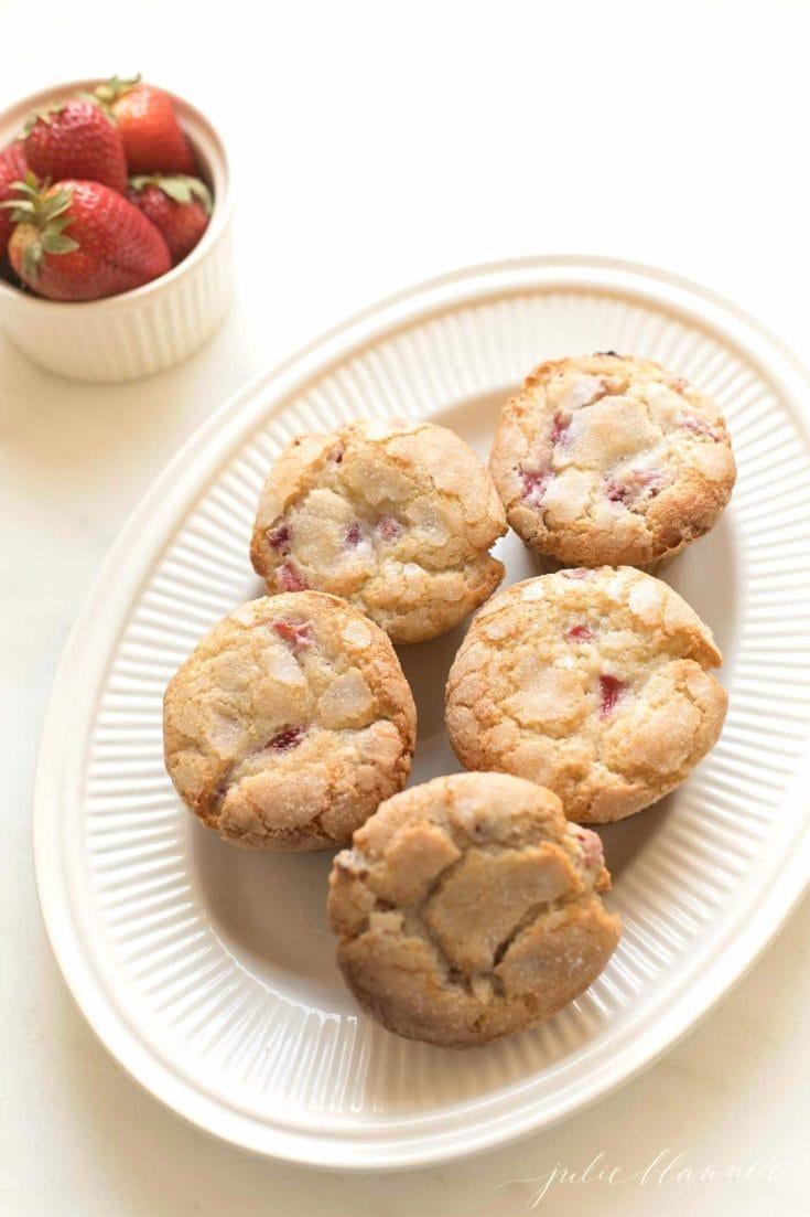 Muffins de Morango