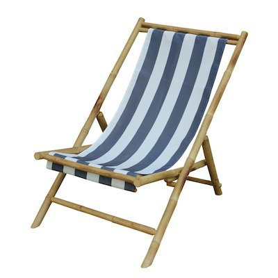 wood sling chair for beach