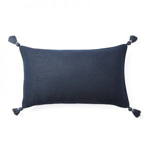tassle pillow cover