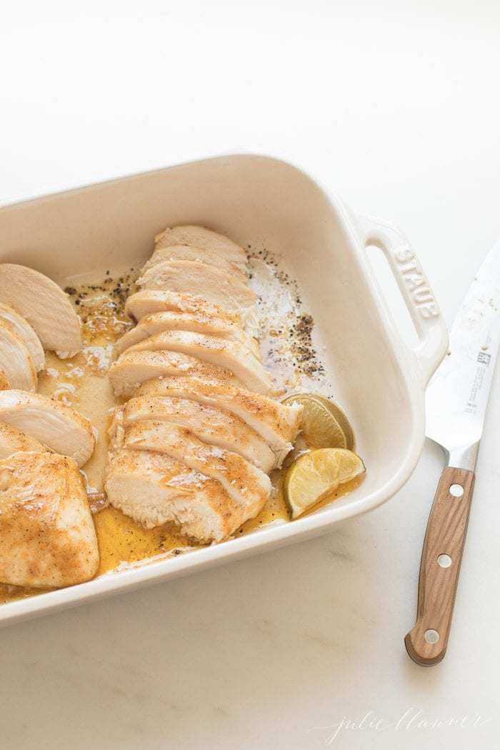 baked chicken breast photo