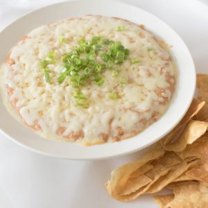 best cream cheese bean dip with chips