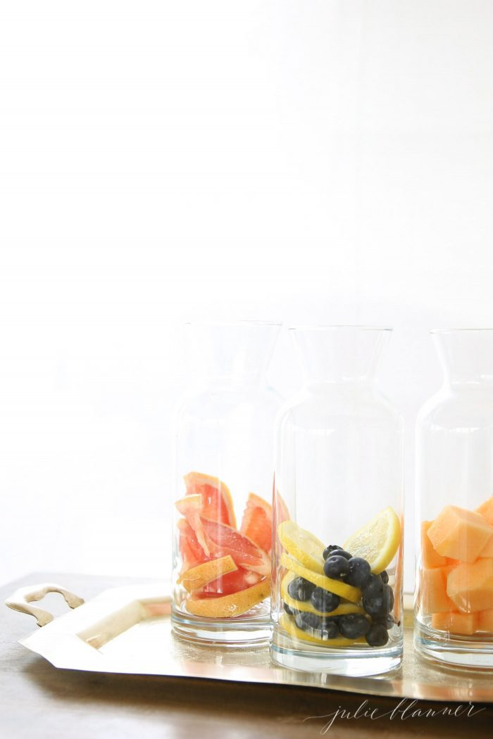 best fruit infused water recipes