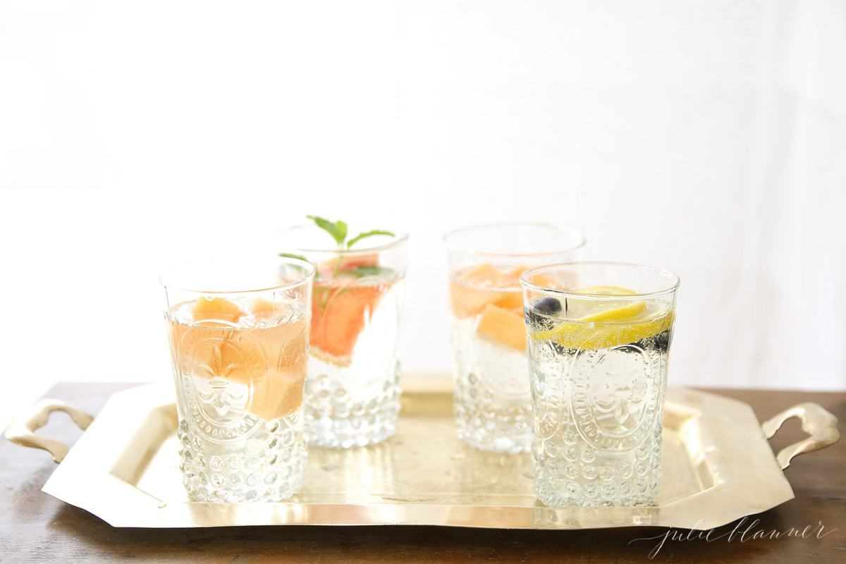 how to infuse water