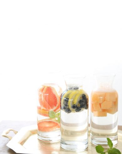 infusing water with fruit