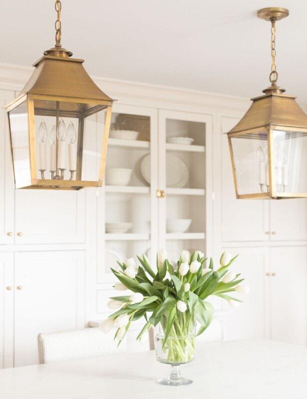 brass lantern pendant lighting