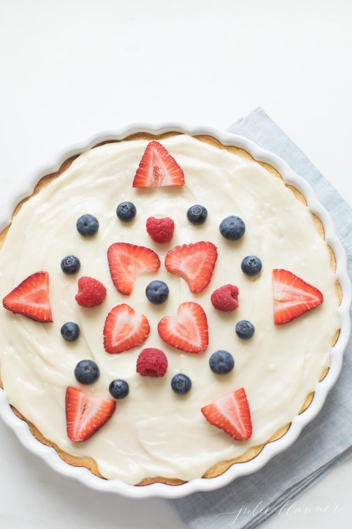 memorial day fruit pizza