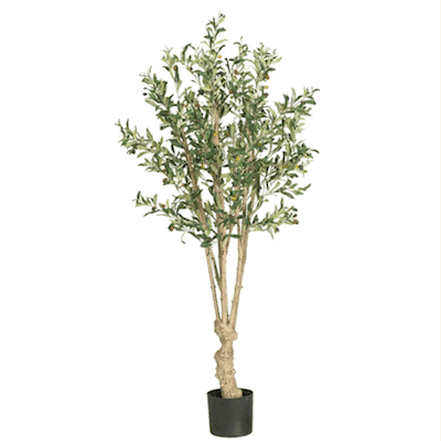 faux olive tree