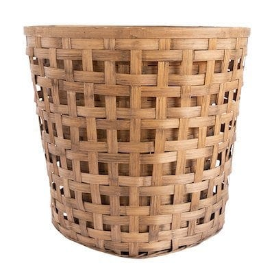 basket for christmas tree