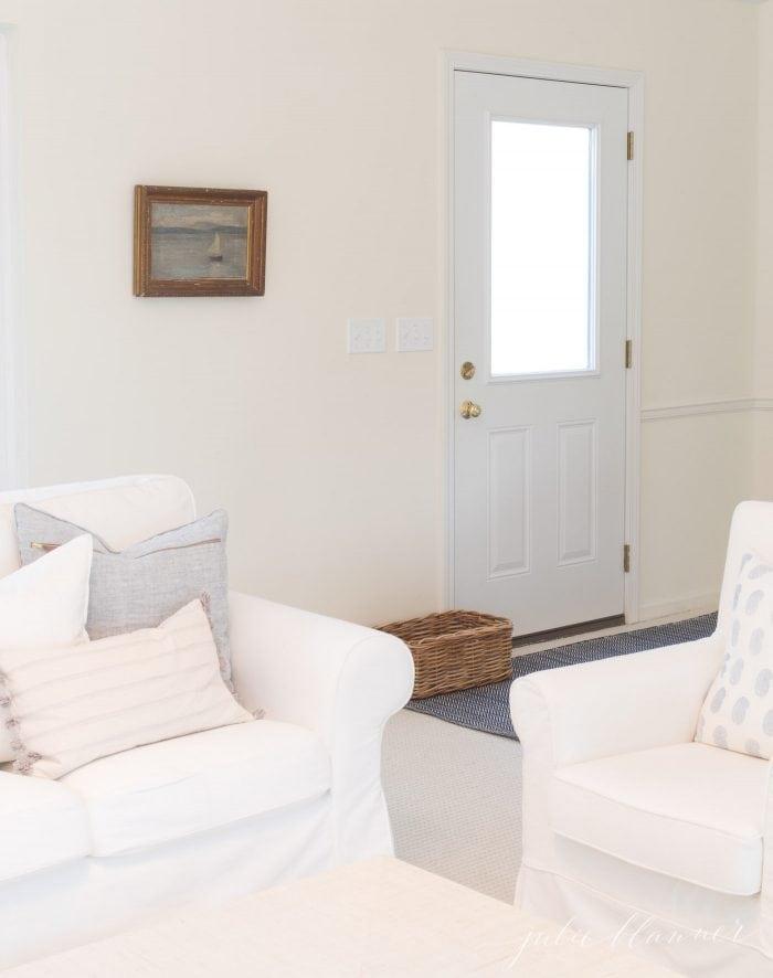 entryway in living room