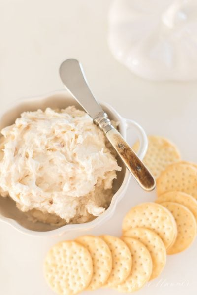 caramelized shallot dip