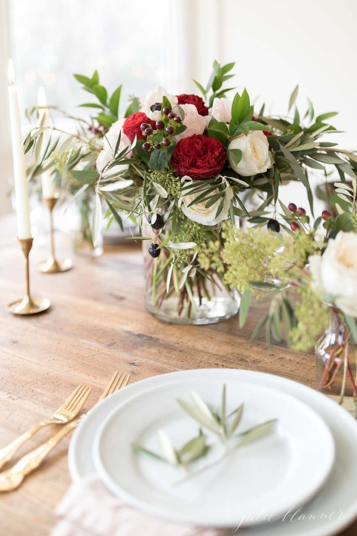 christmas centerpieces diy