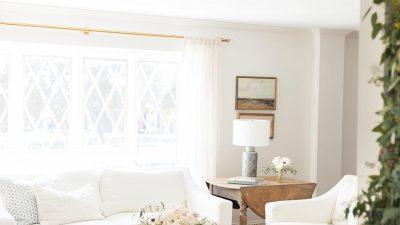 garland over door frame