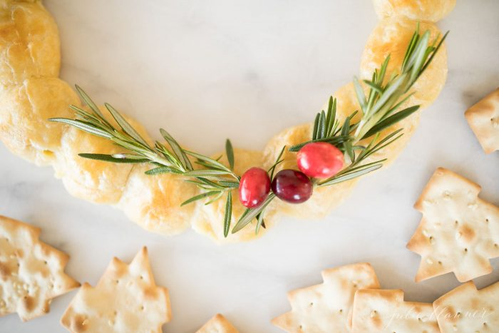 how to make festive christmas appetizers