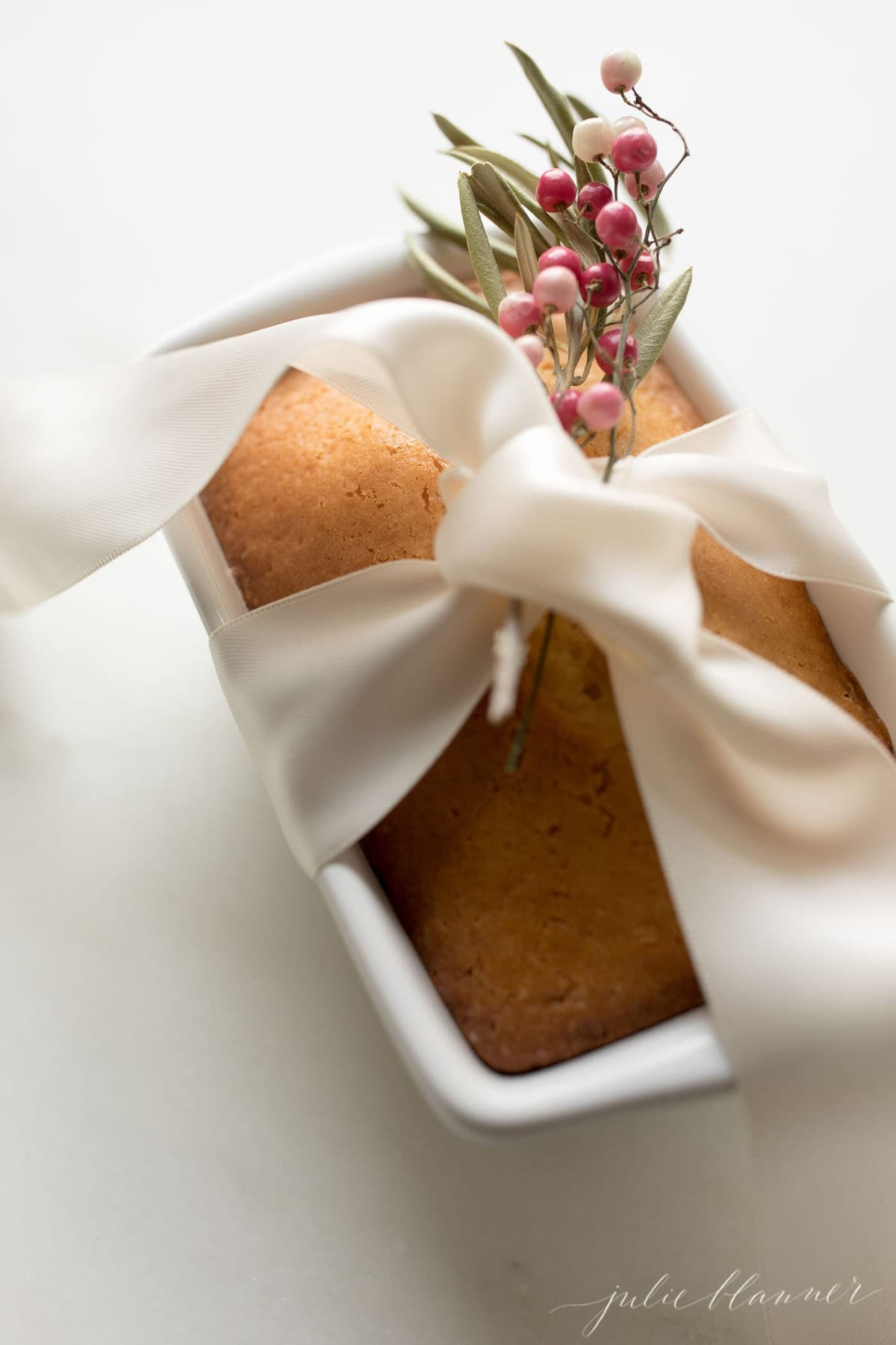 almond bread wrapped in ribbon