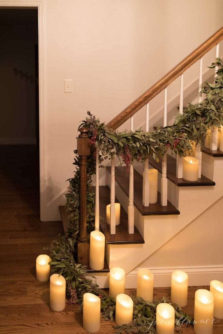 All is Calm, All is Bright | Christmas Home Tour at Night