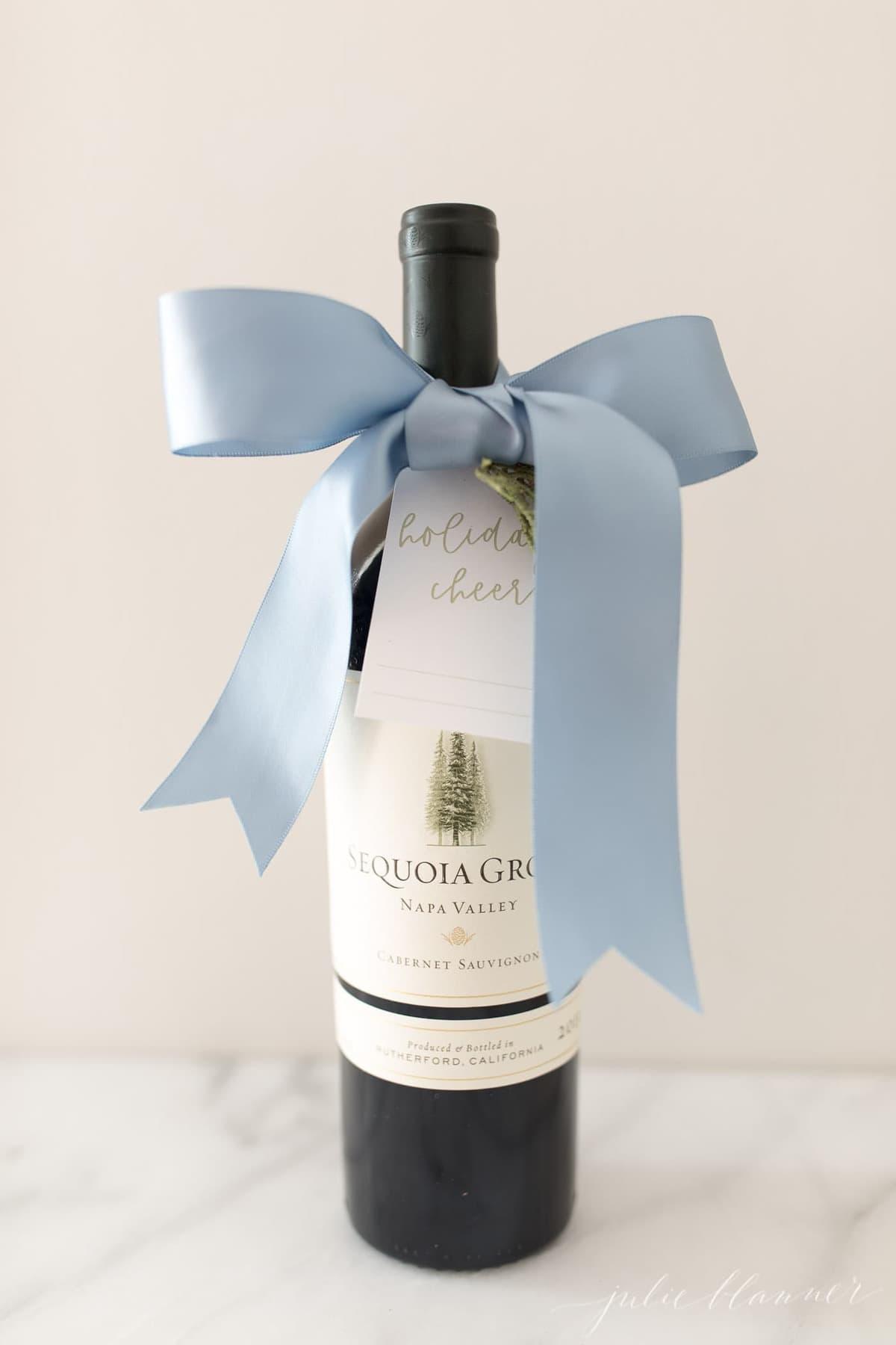 christmas wine gift