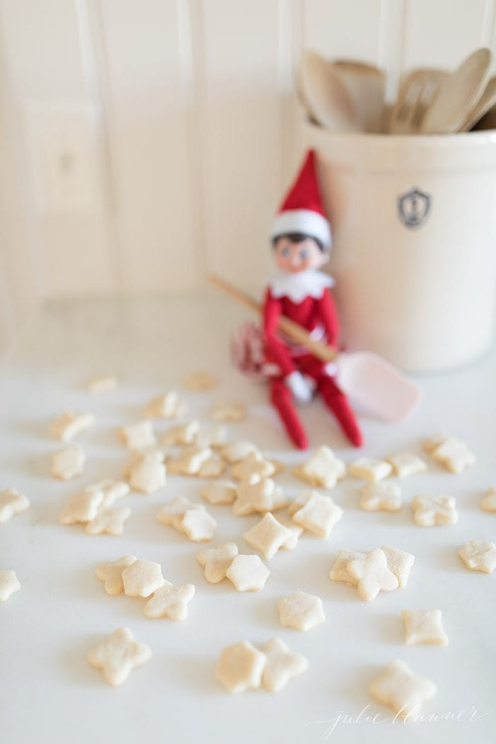 miniature shortbread cookies