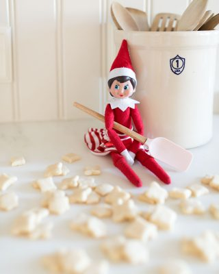 miniature elf cookies