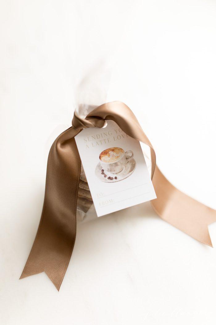latte cookies gift