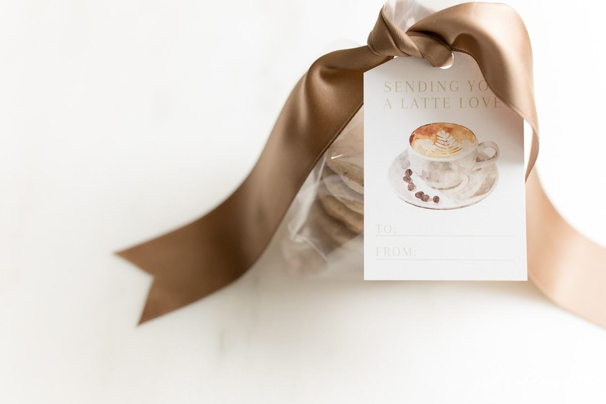 cookies gift wrapped