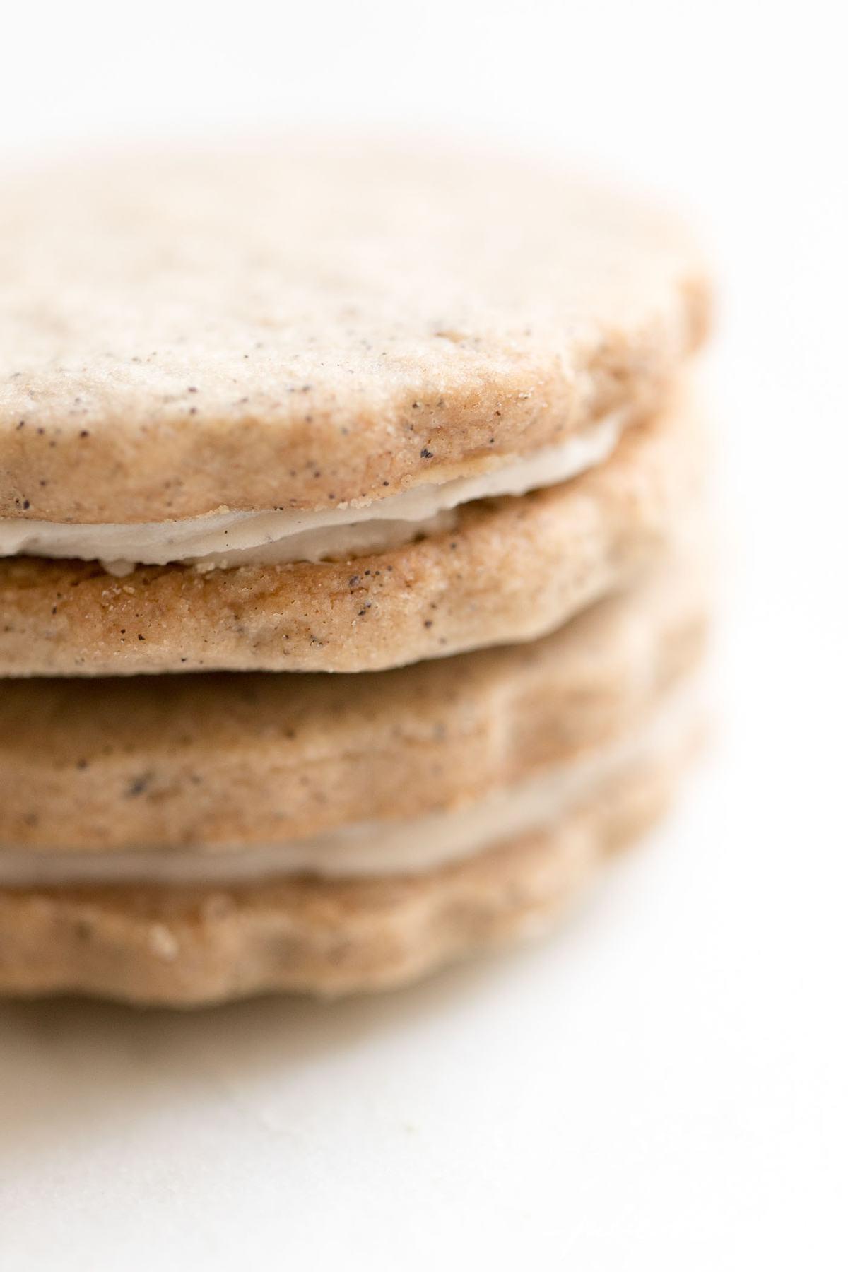 latte sandwich cookies